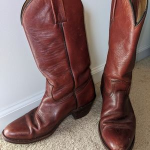 Men's Frye Leather Western Boots 2356